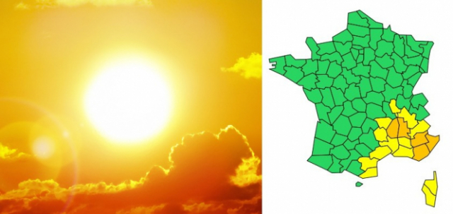 Ardèche, Alpes-Maritimes and Var have joined Drôme and Alpes-de-Haute-Provence under an amber heatwave warning which is expected to last until Sunday