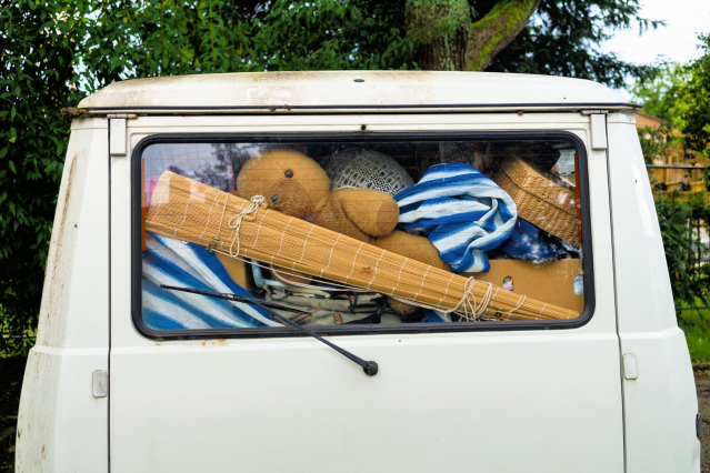 Full boot of the car
