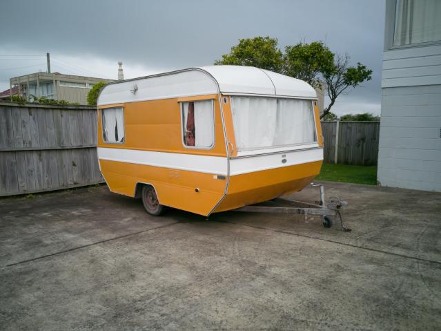 Caravan parking in France