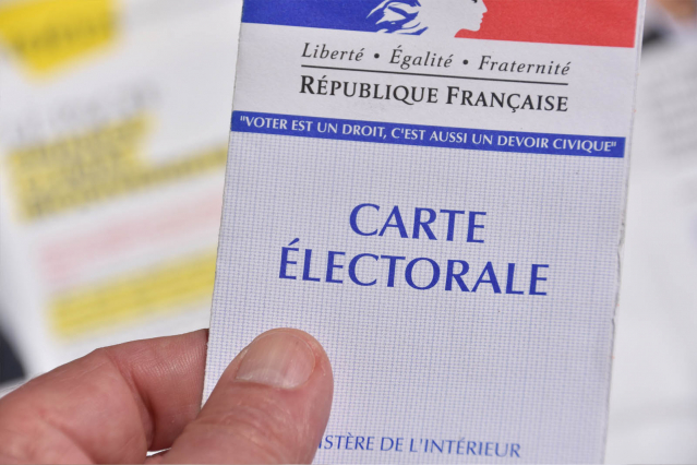 Carte électorale for French regional elections June 2021