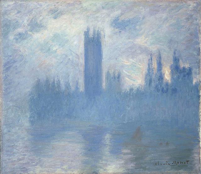 Claude Monet Houses of Parliament London