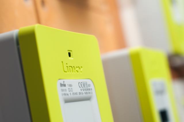 A linky meter up close. Customers won't have to foot the linky meter costs as reported by French media.