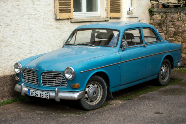 French classic cars