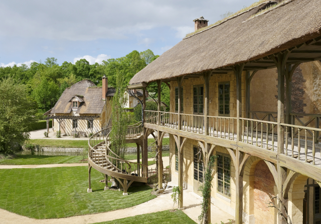 La maison de la Reine restauree