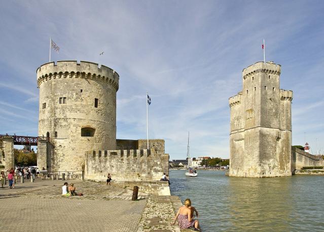 La Rochelle's old town