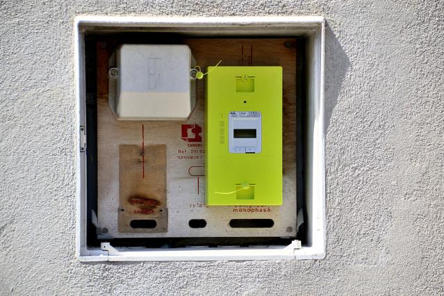 Linky meters in France