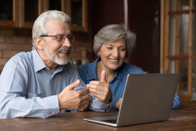 Talking at the computer