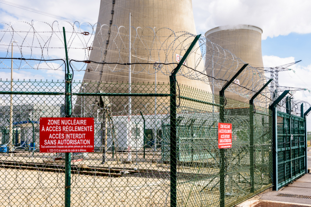 Nuclear power in France is shifting