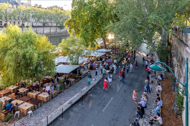 Paris in covid conditions summer 2021