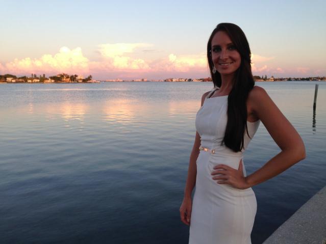 Brooke Spaulding believes her half-sister lives in France