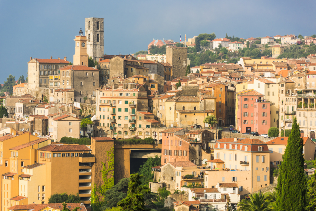 Provencal town of Grasse, France