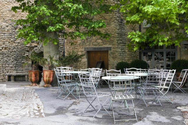 Rural cafes in France