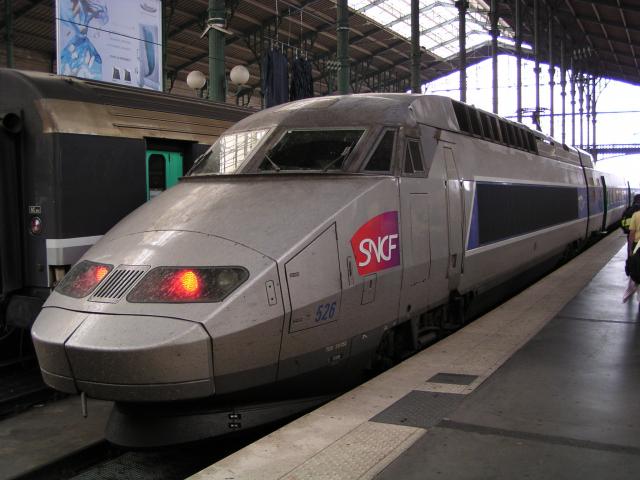 TGV at Paris Gare du Nord