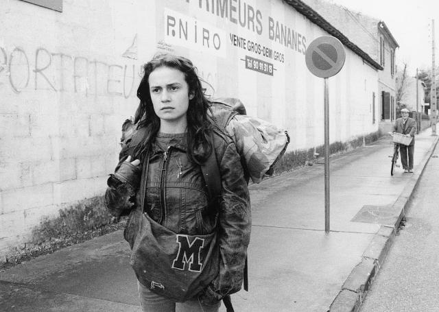 Vagabond film by Agnes Varda with Sandrine Bonnaire