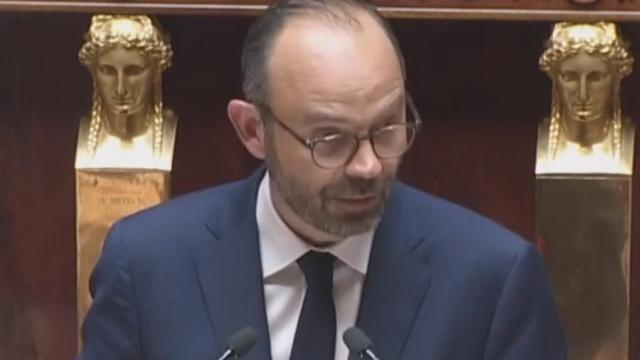 Edouard Philippe speaks