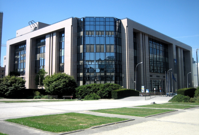 The European Council building in Brussels