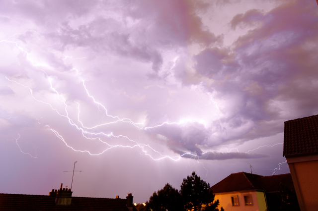 storms to hit France today