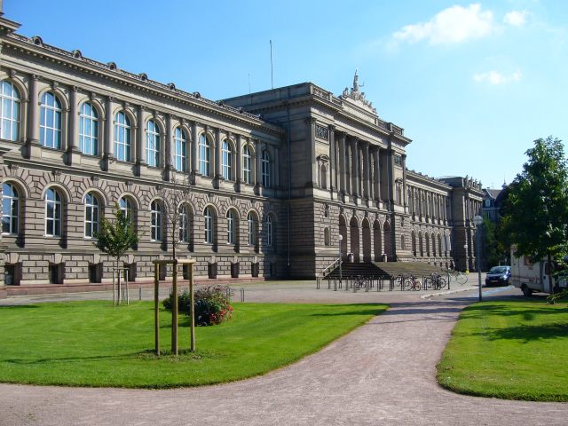 University Palace at Strasbourg, the main building