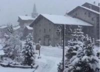 First substantial snowfalls land in the Alps and Pyrenees as major ski resorts prepare to open this
