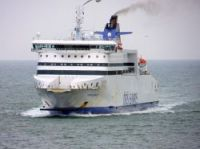 The Dieppe Seaways as it approaches Dover