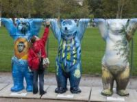 Buddy Bears on the Champ de Mars - Photo: Mairie de Paris-Sophie Robichon
