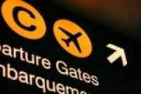 Airports forced to shut in air strike