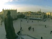 Drone video showed Place Stanislas in Nancy