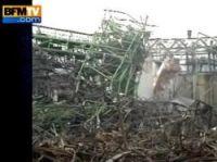 31 killed in AZF blast - screengrab: BFMTV