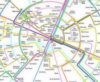 Dr Roberts' map of the Paris Metro