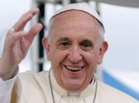 Pope Francis is in France for a few hours