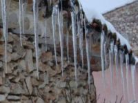 Icy winter in Provence - Photo: Joan and Adam Bunting