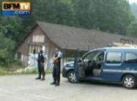 Police at the scene in 2012