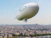 Zeppelin trips over Paris