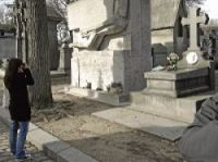 Père Lachaise is the busiest graveyard in the world, with two million visitors each year