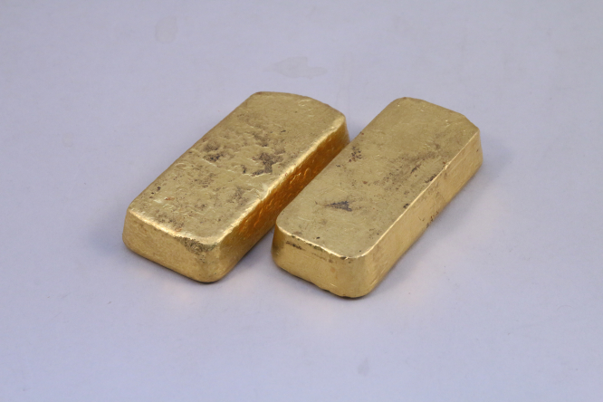 Two gold bars. Boys playing at their grandmother's former home during lockdown in France found two gold bars worth more than 100,000 euros.