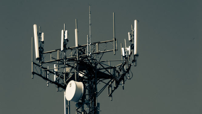 A 5G antennae. Should people in France be worried about 5G?