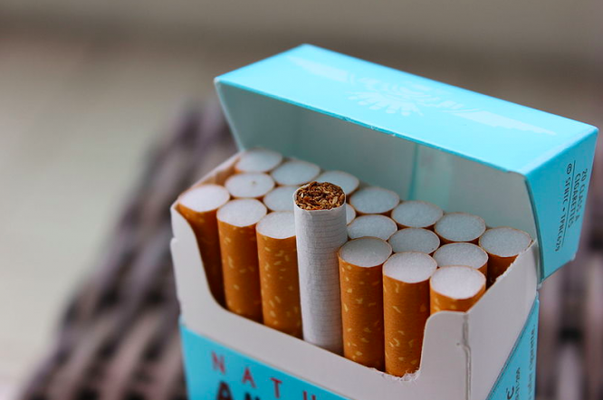 A pack of 20 cigarettes. What is changing in France in November 2020?