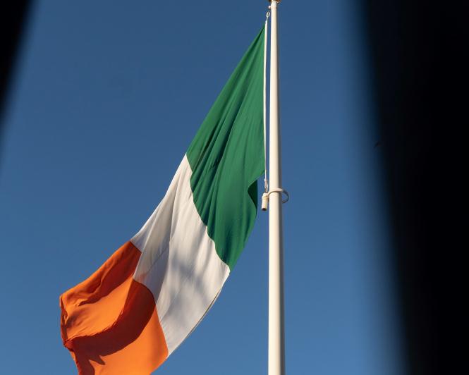 Irish flag. Alejandro Luengo / Unsplash