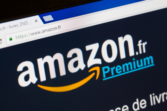 The Amazon France homepage website. 500,000 shopkeepers in France launch anti-Amazon campaign