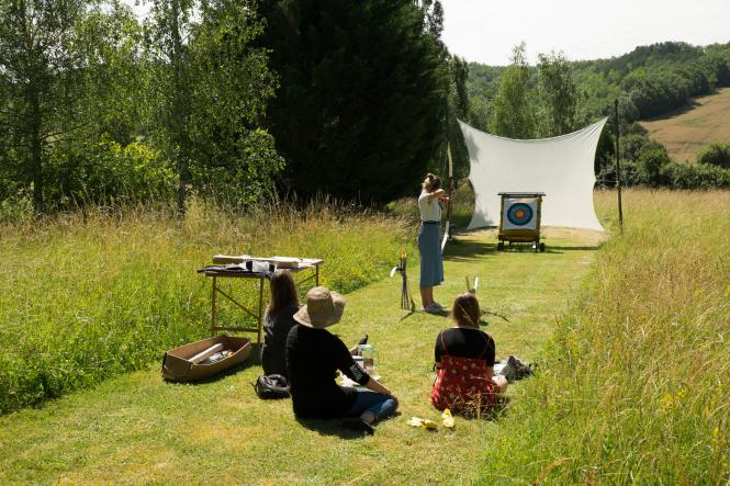 Archery at Berty Gite