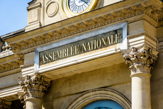 The exterior of the Assemblee Nationale building. Health pass, vaccination: Key points of anti-Covid law passed by MPs