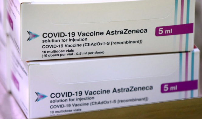 The AstraZeneca vaccine. 29,000 GPs in France to give AstraZeneca vaccine this week