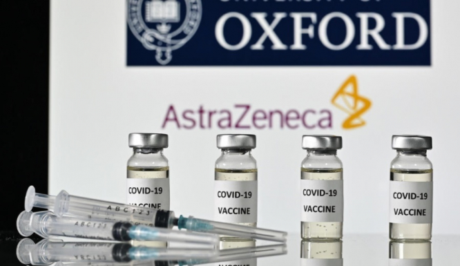 The Oxford University-AstraZeneca vaccine. France urged to speed up vaccination as variants spread