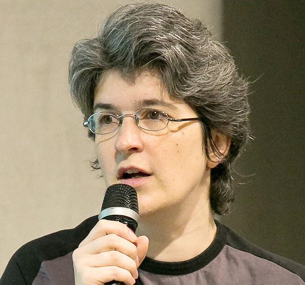 Animal rights activist Brigitte Gothière