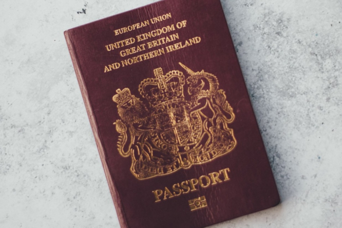 A British passport. France is to open non-EU borders from July 1, EU border from June 15, but restrictions still apply to UK