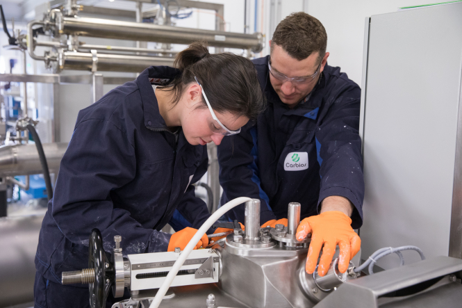 Carbios' lab-workers creating the plastic-eating enzyme that will 'revolutionise recycling'
