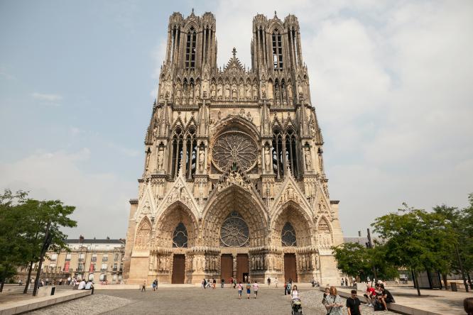 Cathédrale Notre-Dame de Reims, Place du Cardinal Luçon, Reims, France