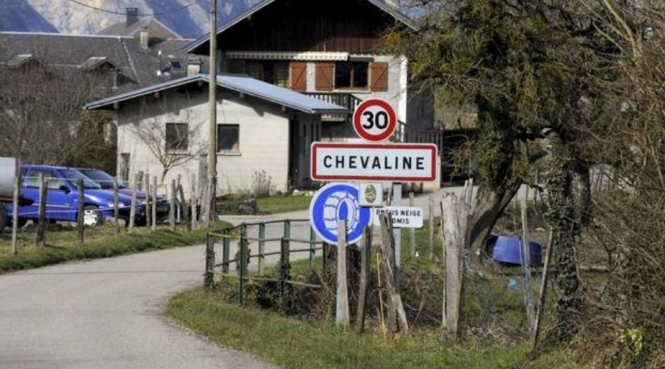 A mountain trail in the Haute-Savoie (no connection to the case). Dead body shocks French village eight years after infamous murders