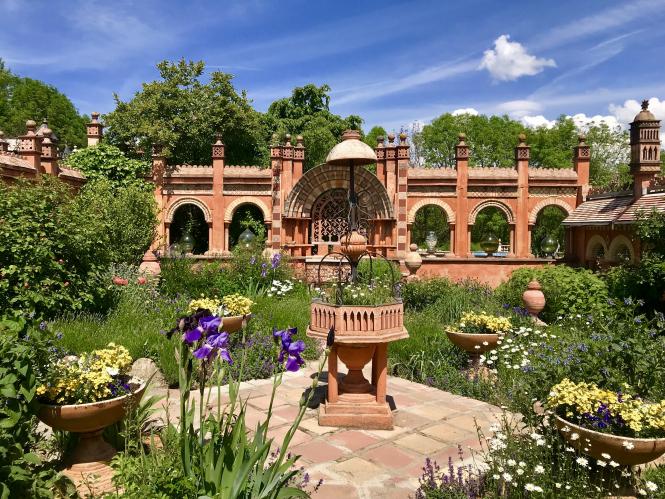 Connexion explores Les Jardins Secrets and talks to the owners. Pictured: Jardin de curie (c) Jardins-secrets.