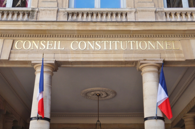 The offices of the French Constitutional Council (Conseil Constitutionnel), the highest constitutional court in France. Court to rule on whether French health pass conforms with constitution